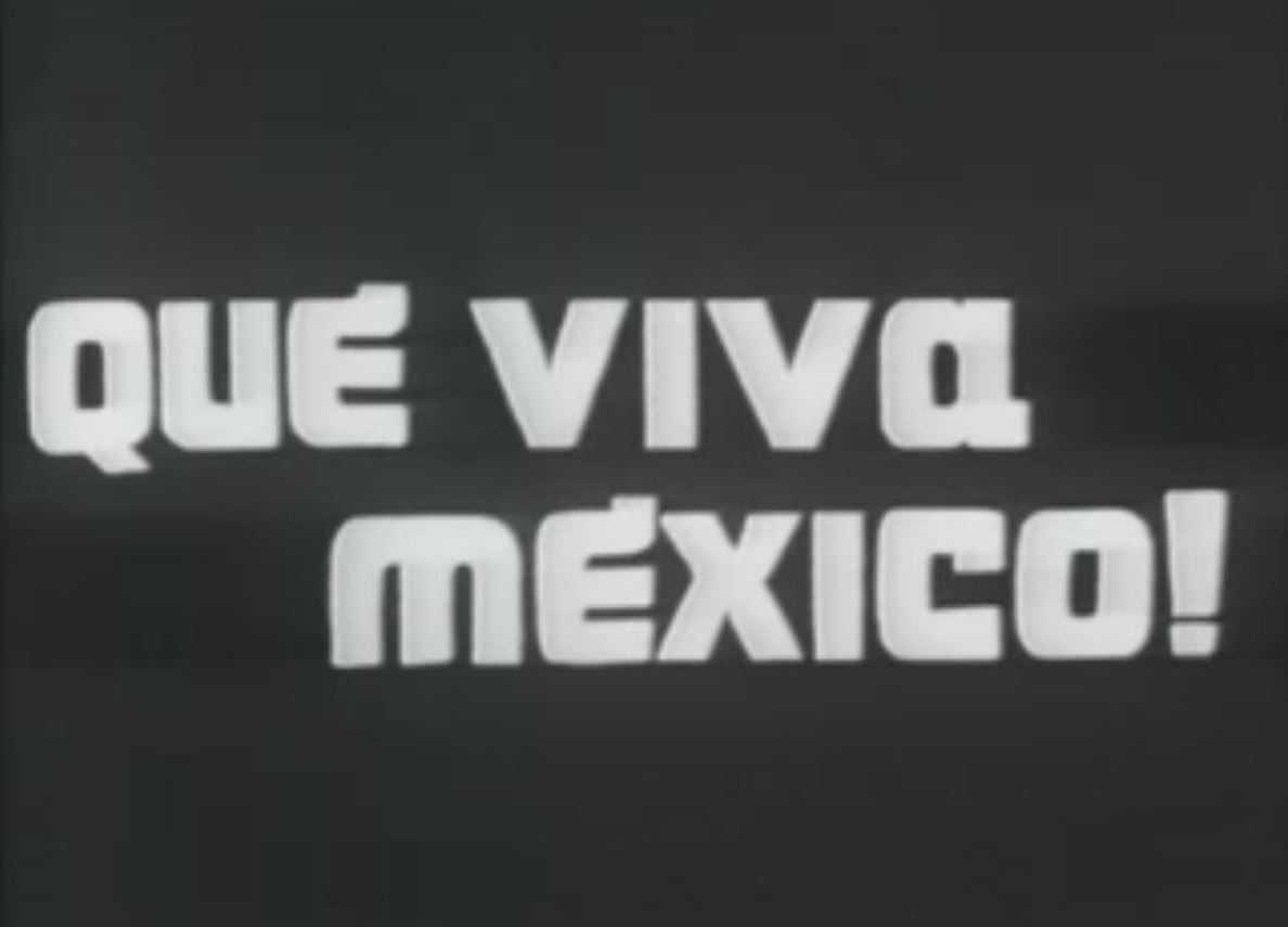 película que viva México